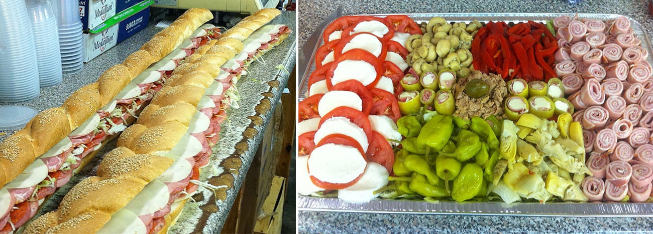 italian catering boston